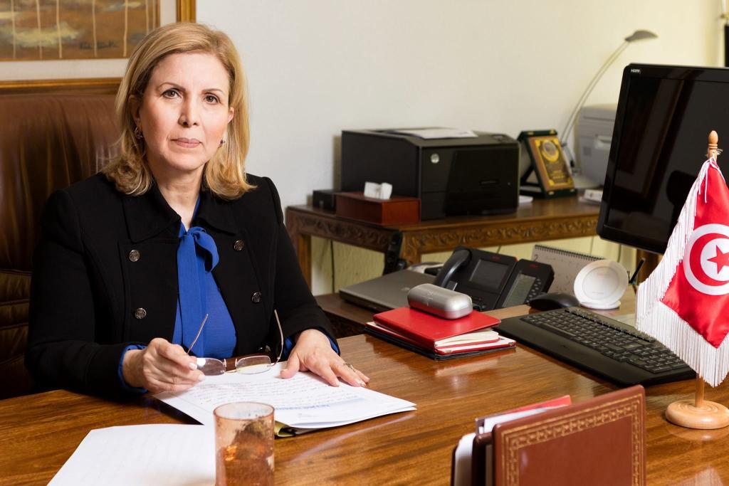 المرشحة التونسية سلمى اللومي