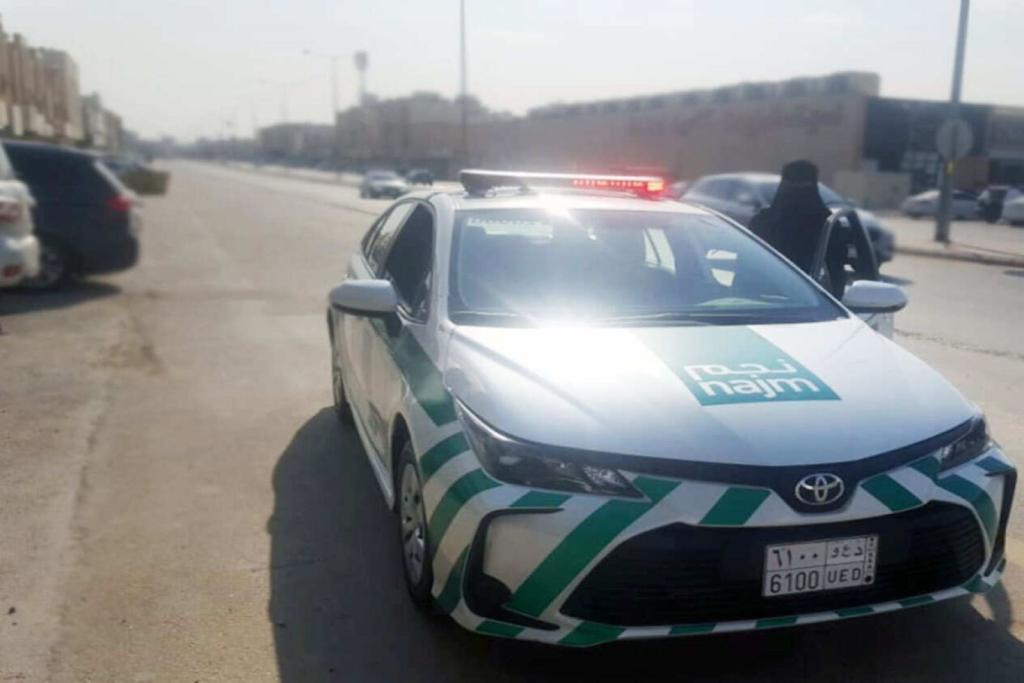 أول معاينة مرور سعودية تابعة لـ«نجم» تباشر عملها في الرياض   مجلة سيدتي
