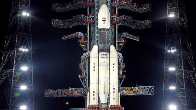 فشل المركبة الهندية الفضائية في الهبوط على القمر
