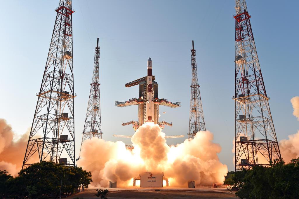 مركبة الفضاء الهندية التي فشلت في الهبوط على سطح القمر