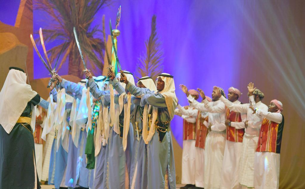 أوبريت النخلة لليوم الوطني السعودي