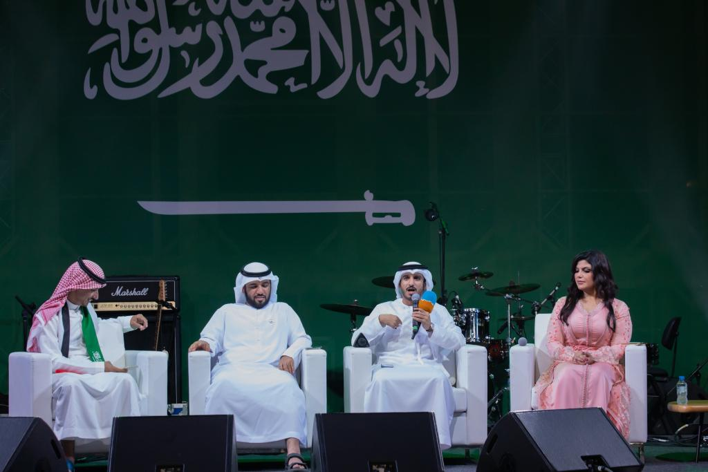 بيت الشعر يحتفل باليوم الوطني السعودي