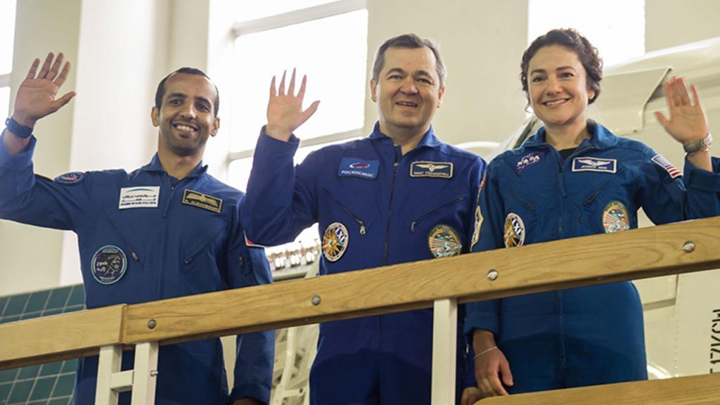 رحلة رائد الفضاء الإماراتي