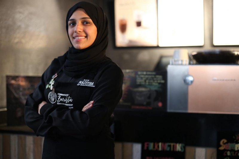 نجيبة المكي أول سعودية في بطولة البريستا