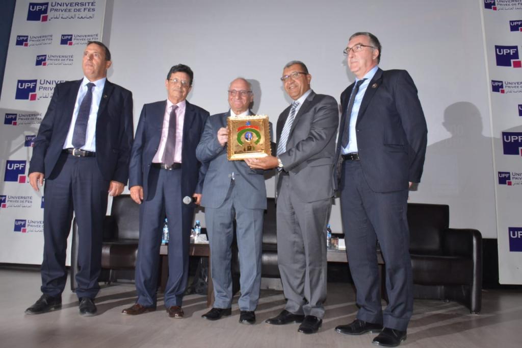 تكريم العالم المغربي رشيد اليزمي