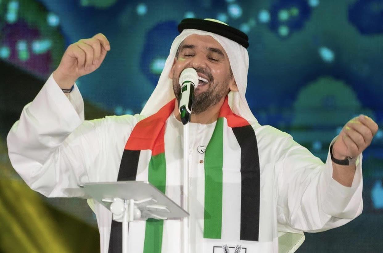 حسين الجسمي يتألق في حفل اليوم الوطني الإماراتي 48   مجلة سيدتي
