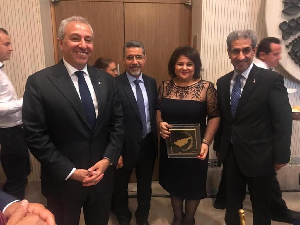 مي طه خليل تفوز بلقب دبلوماسية العام في قبرص