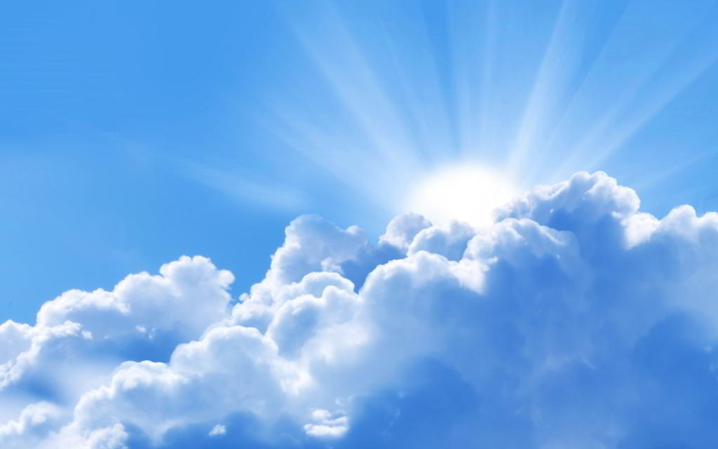 لون السماء الأزرق