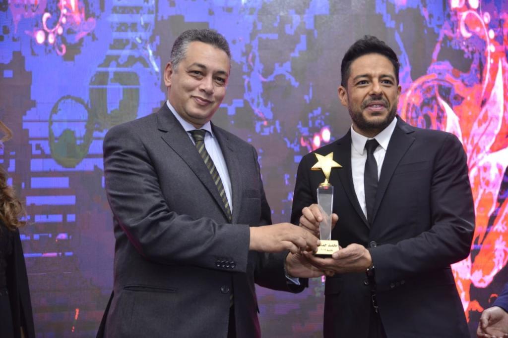محمد حماقي يشكر جمهوره بعد تكريمه في المغرب   مجلة سيدتي