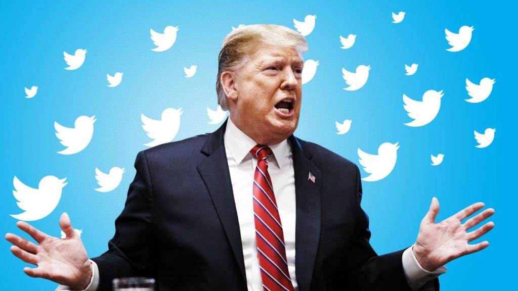 ترامب يتفوق على نفسه في تويتر.. 142 تغريدة خلال 24 ساعة   مجلة سيدتي