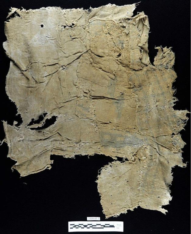 أقدم نسيج ملون في العالم