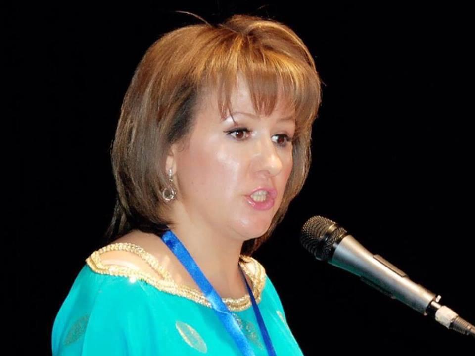 أمينة الصباري تتبرع بثمن روايتها لمحاربة كورونا