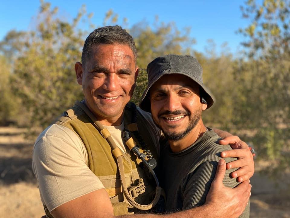 Amir Karara (L) and Peter Mimi (R)
