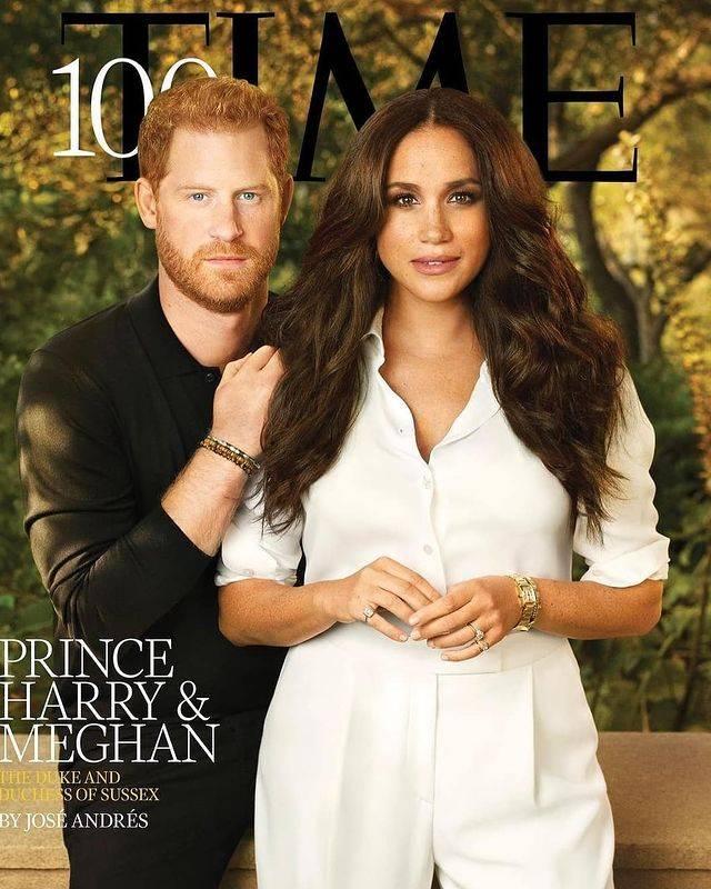 غلاف مجلة Time الصورة من حساب europe Royals على إنستغرام