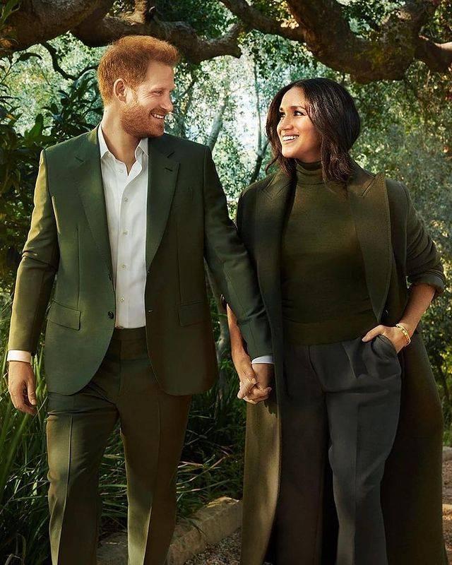 ميغان وهاري- الصورة من حساب Europe Royals على إنستغرام