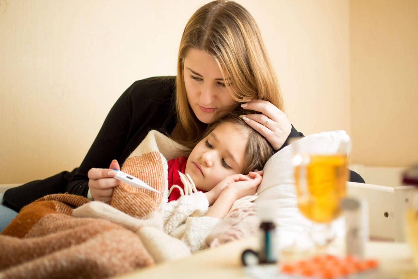 النزلة المعوية للطفل