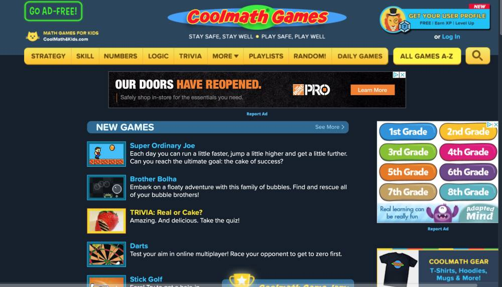 تطبيق Coolmath