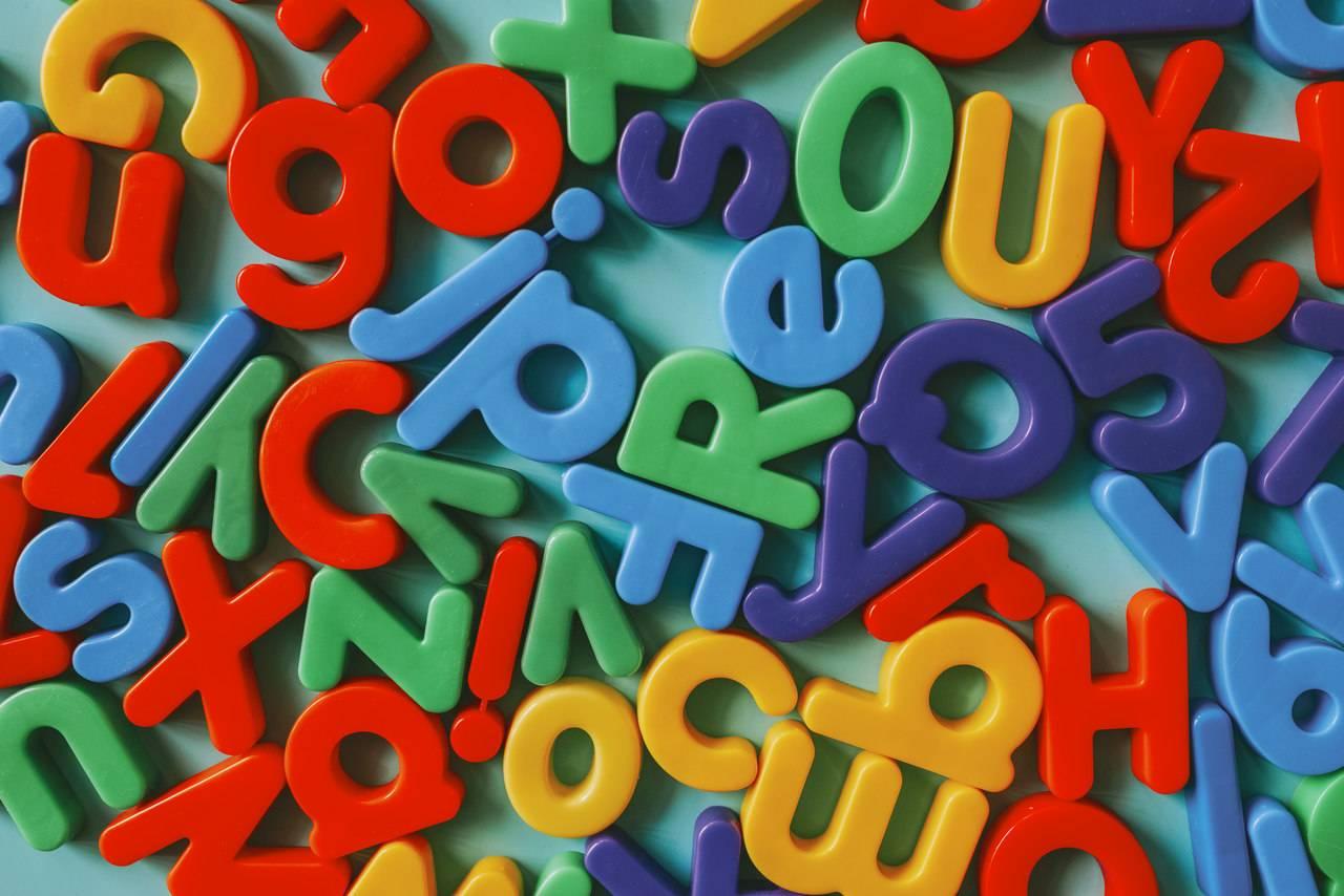 تعلّم الأحرف بالإنكليزية