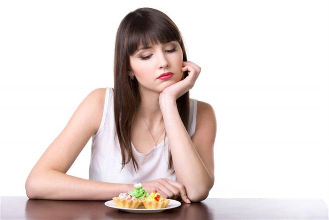 صورة لعدم الرغبة فى تناول الطعام