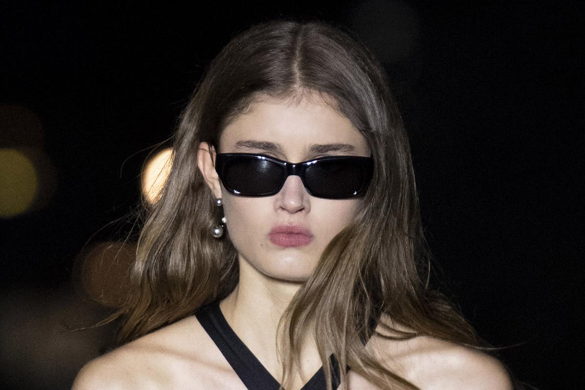 نظارات شمسية مستطيلة من آيمي ألكسندر ماتيوسي Ami Alexandre Mattiussi
