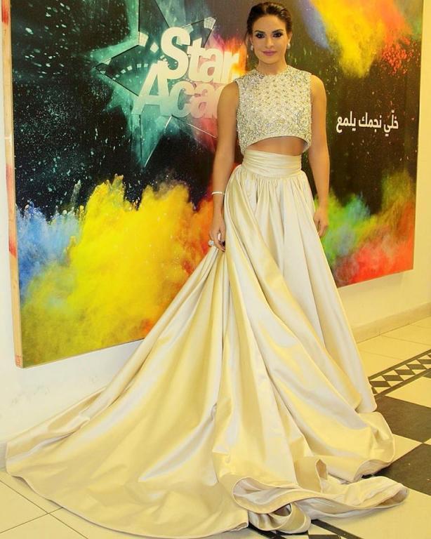 3cd8c26ba أجمل 10 فساتين ارتدتها النجمات العربيات في عام 2016   مجلة سيدتي