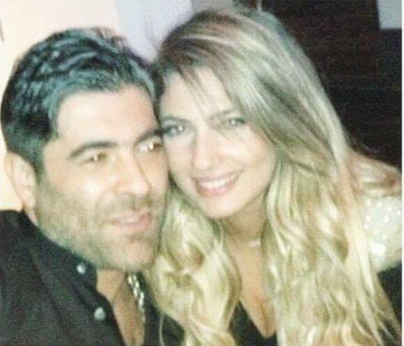 زوجة وائل كفوري أنجيلا بشارة الى العلن