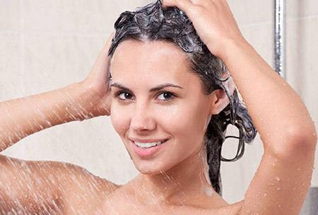 الاستحمام وتصفيف الشعر