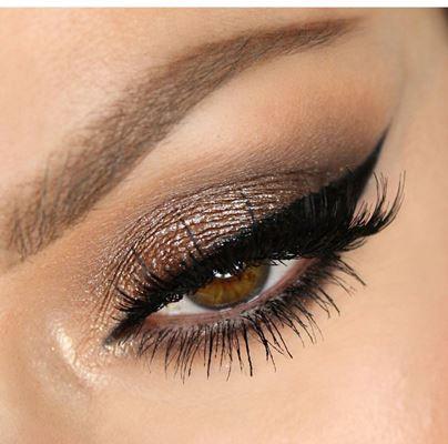 مكياج العيون المبطنة