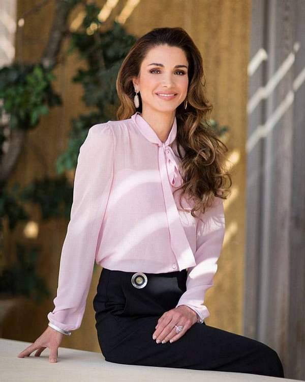 اطلالة الملكة رانيا العبد الله