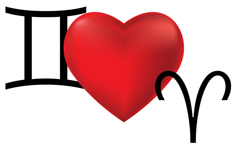 توافق برج الجوزاء والحمل في الحب