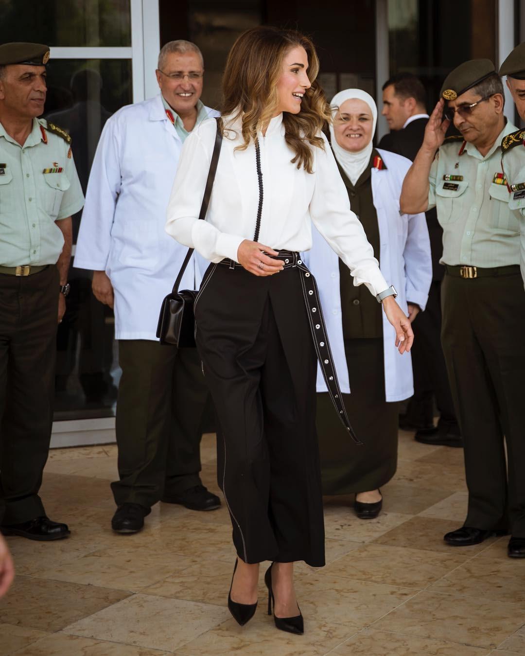اطلالات الملكة رانيا العبد الله
