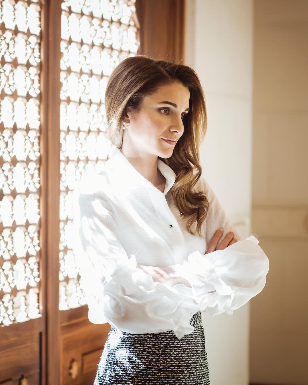 اطالات الملكة رانيا العبد الله
