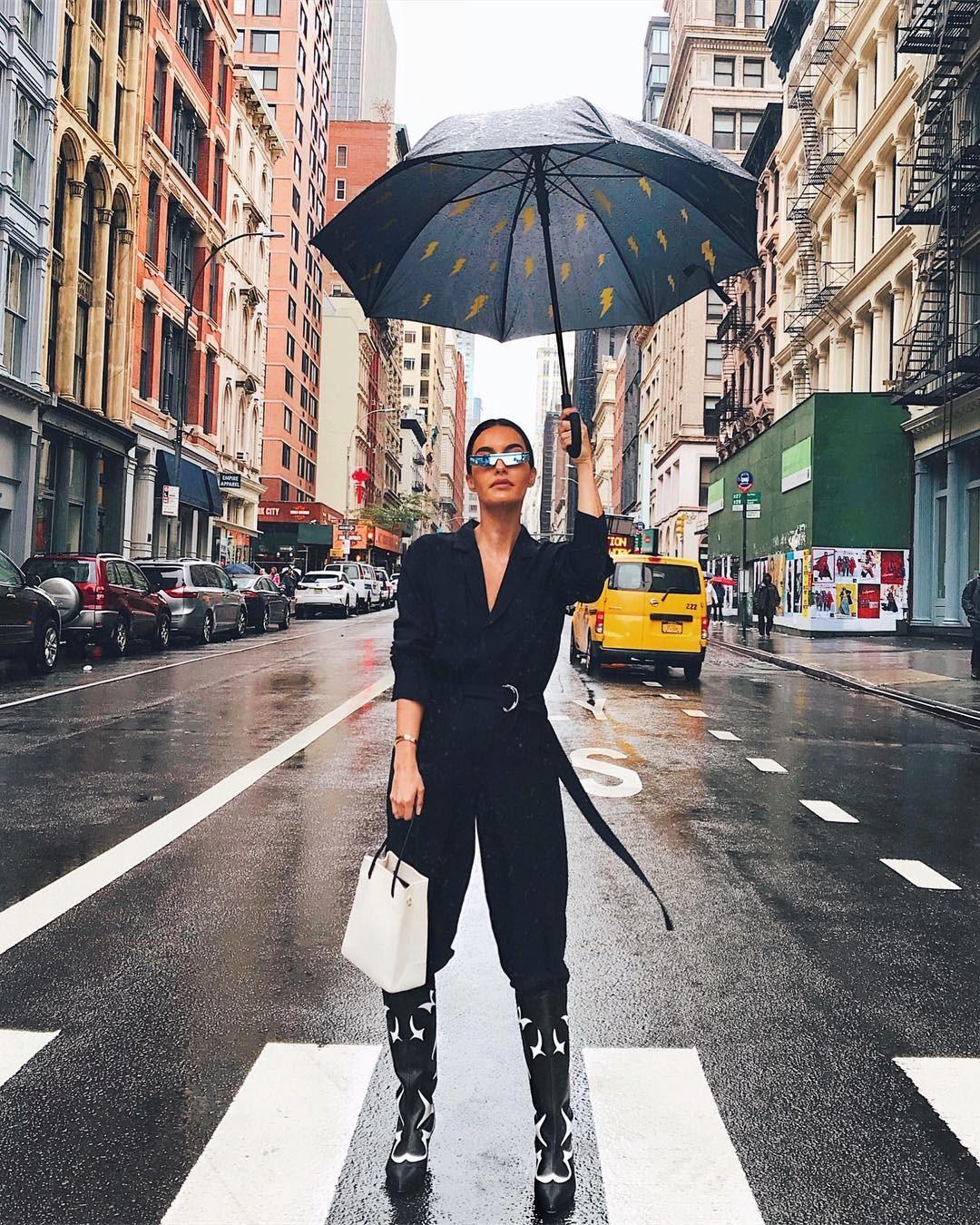 اطلالات اسبوع الموضة بنيويورك