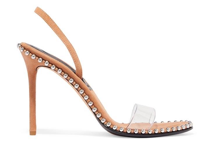 حذاء نيود من تصميم Alexander Wang