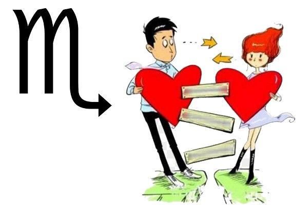 الابراج وفشل العلاقة العاطفية