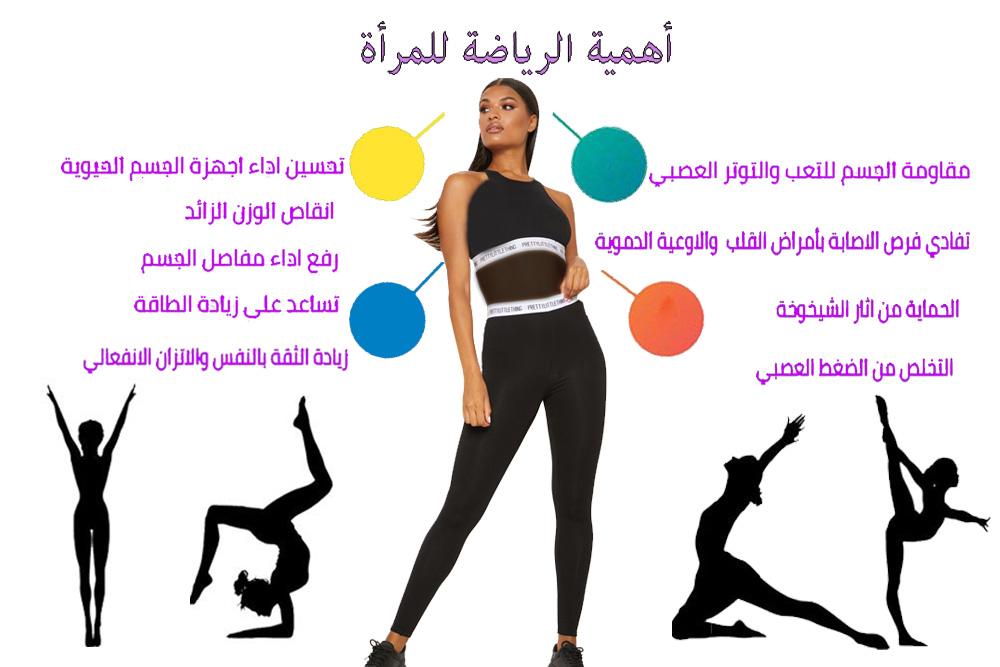 أهمية الرياضة للمرأة