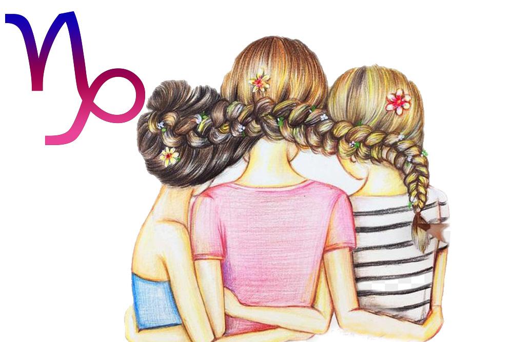 توافق النساء في الصداقة وفق الأبراج