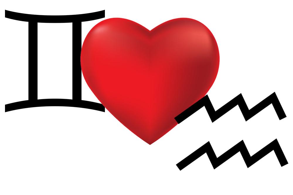 توافق الجوزاء مع برج الدلو في الحب