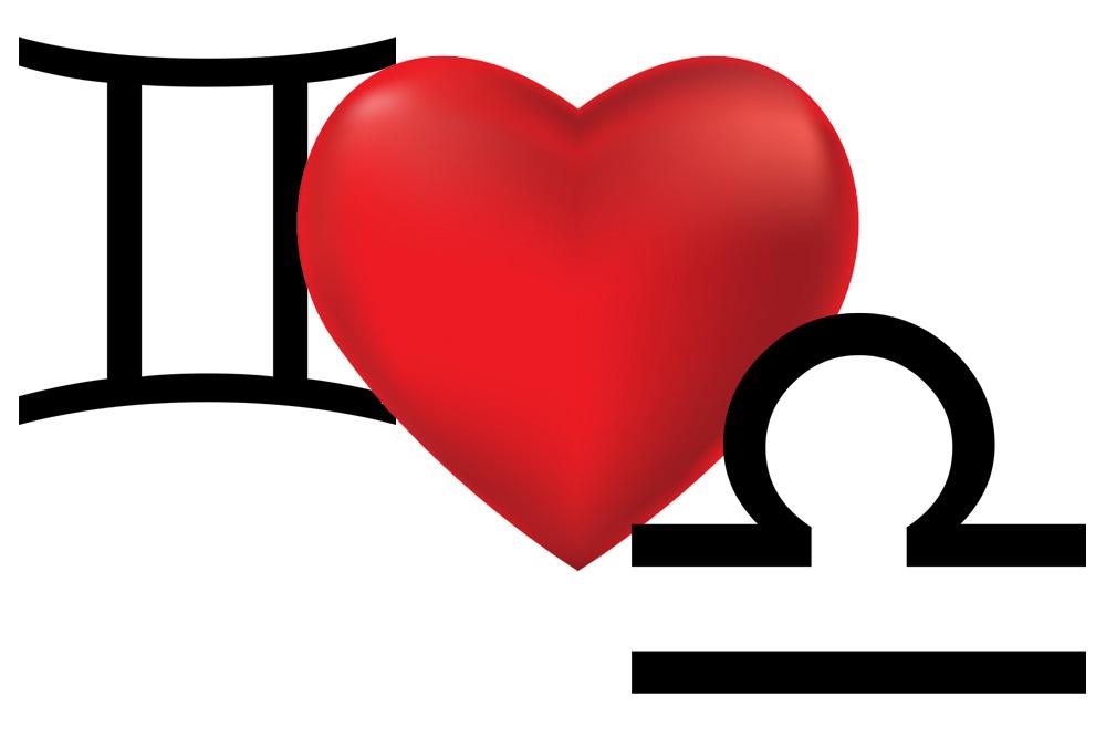 توافق برج الجوزاء مع برج الميزان في الحب