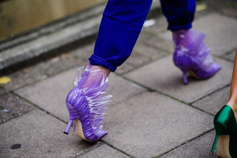احذية عروض الازياء