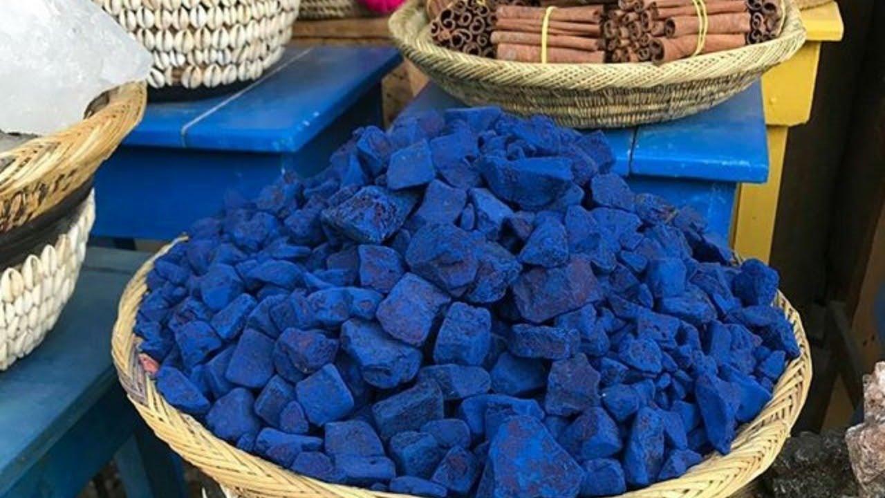 النيلة الزرقاء لتفتيح البشرة