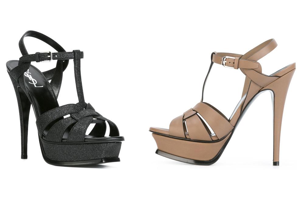 حذاء من ايف سان لوران