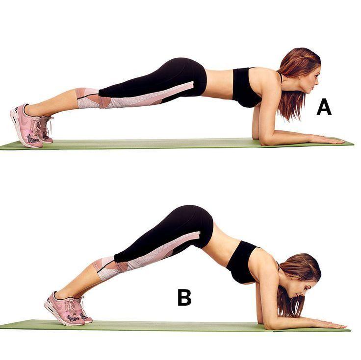 تمرين لشد عضلات البطن