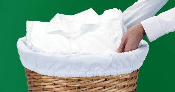 تنظيف الملابس البيضاء