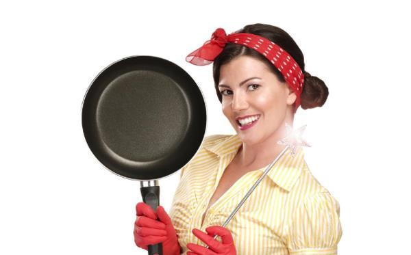 تنظيف أواني الطهي