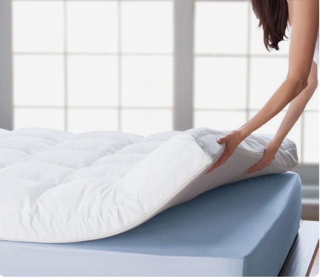 ازالة بقع الدم من مرتبة السرير