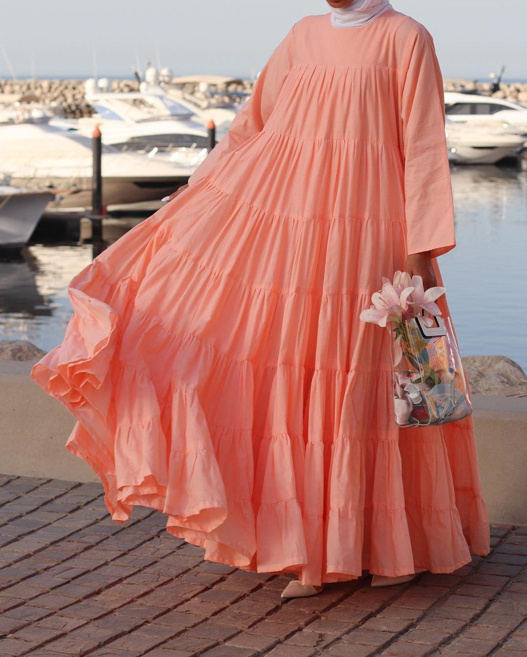 فستان سيمون واسع