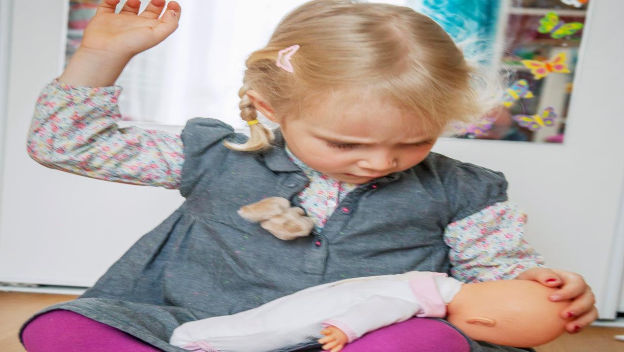 تأثير الضرب والصراخ الأطفال
