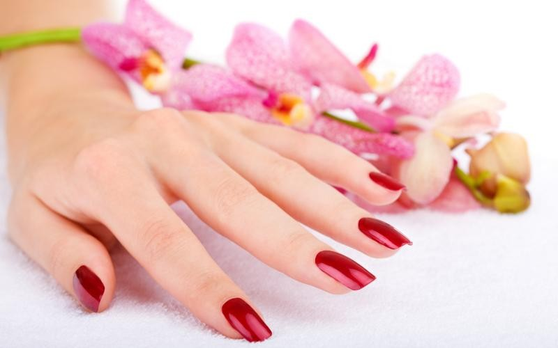 علاج أظافر اليد