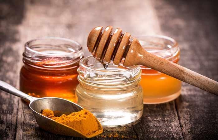 ماسك العسل والكركم